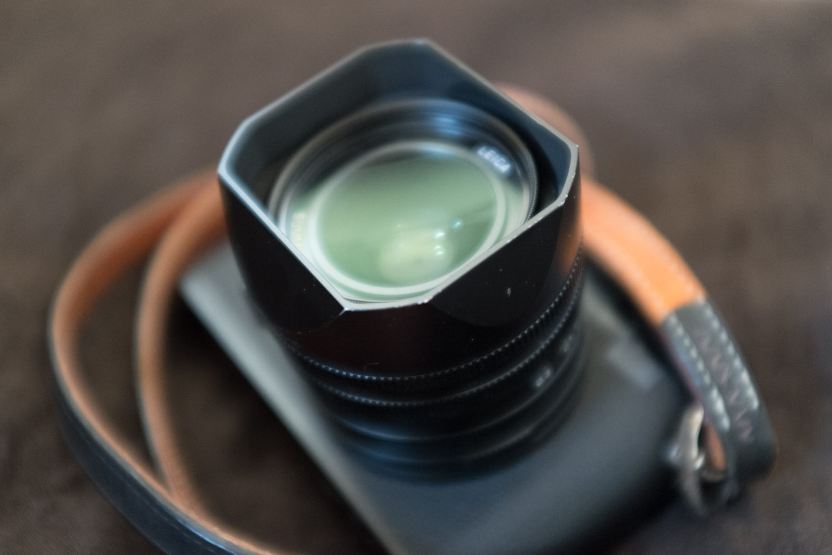 Leica Q, lens hood, exceptionally well made