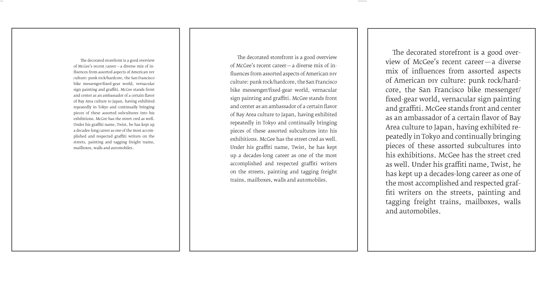 Embracing the digital book by craig mod line length over font size fandeluxe Image collections