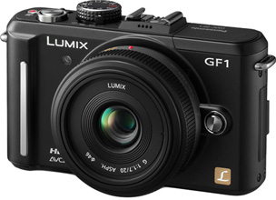 The GF1 with 20mm Lumix lens