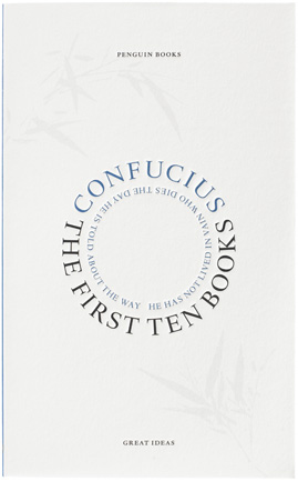 David Pearson's cover for Confucius