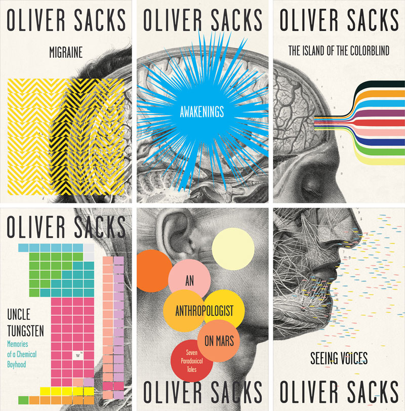 Cardon Webb's Oliver Sacks cover collection