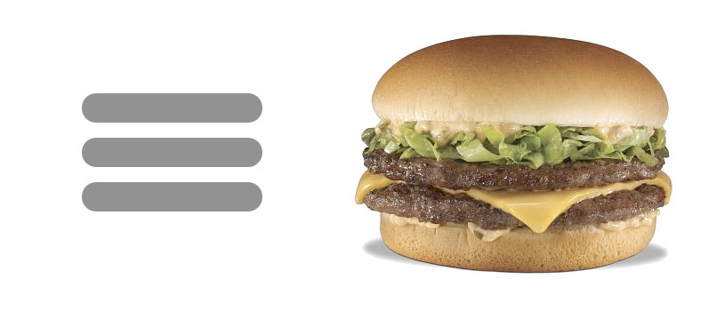 The Hamburger Button