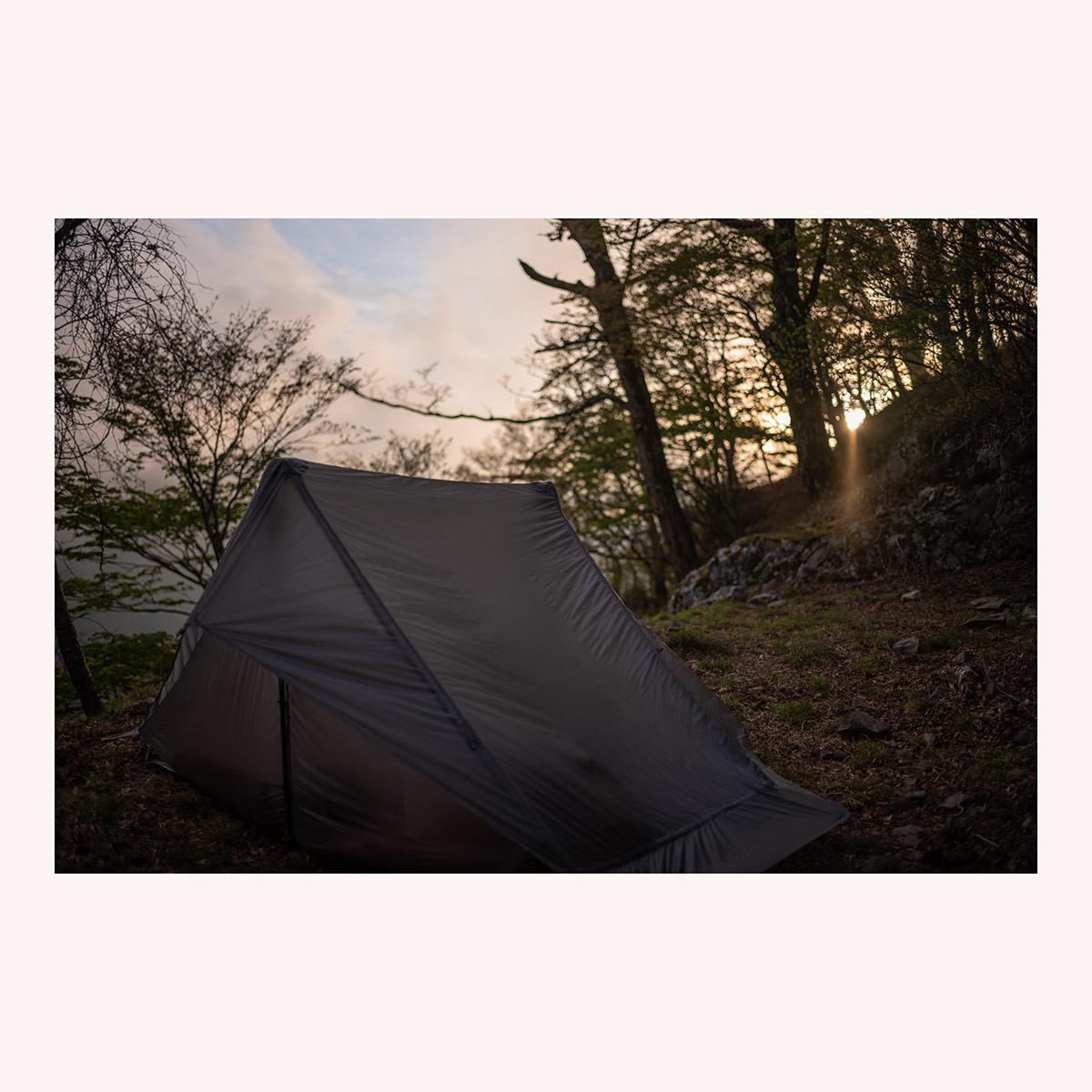The One Gossamer Gear Tent