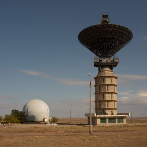 Postcards from the Baikonur Cosmodrome