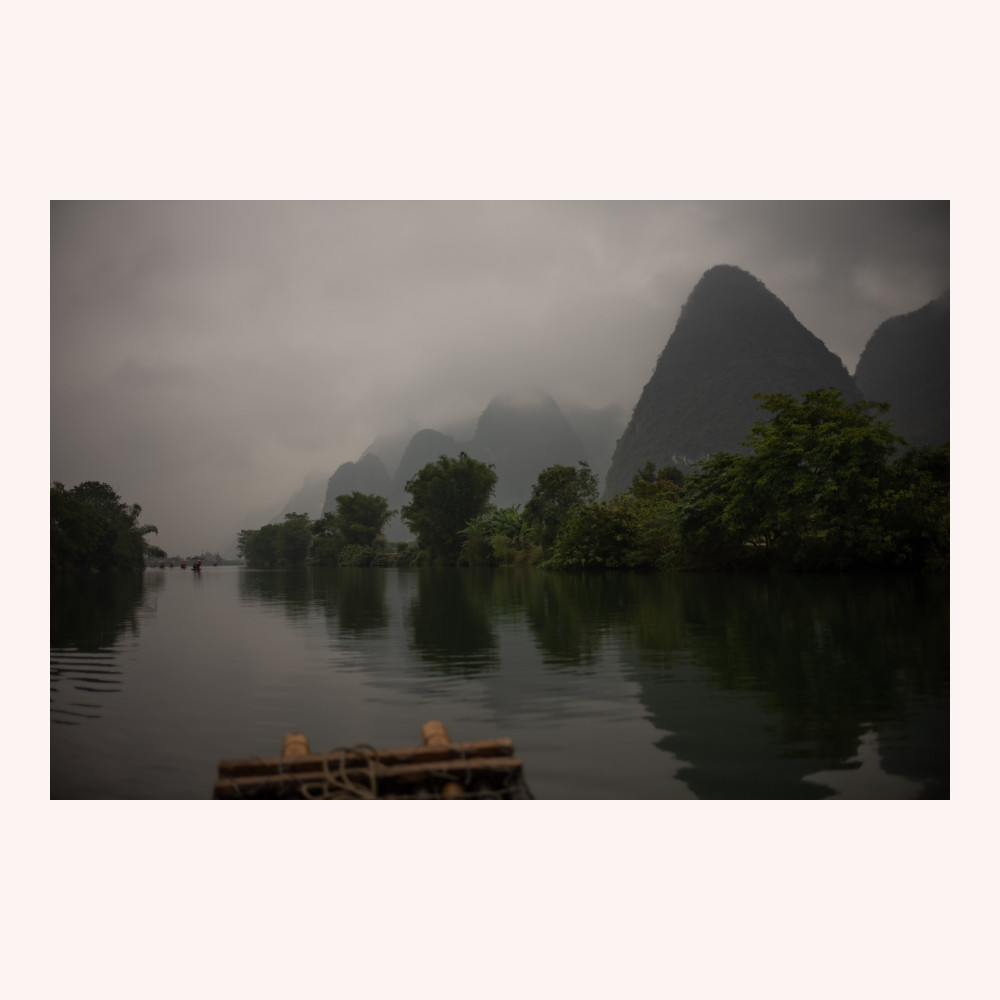 Floating down the Yulong River