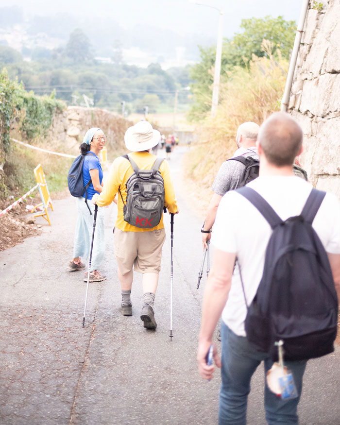 Some of my archetypes, walking along the Camino Portugese